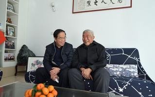 副校长李玉洋走访慰问原泰安市政...